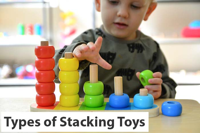 types of stacking toys
